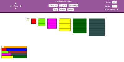 image about Cuisenaire Rods Printable identify - Resources for Maths Instructors